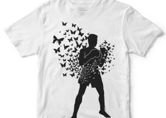 Float Like Butterfly Sting Like Bee buy t shirt design