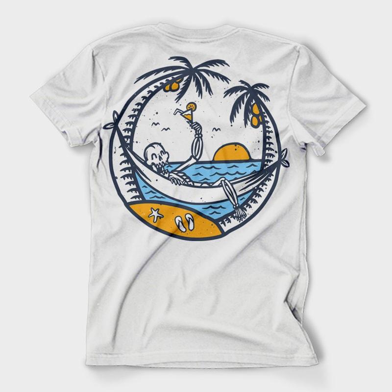 e47c23dd Skull Summer- Best T-shirt Design