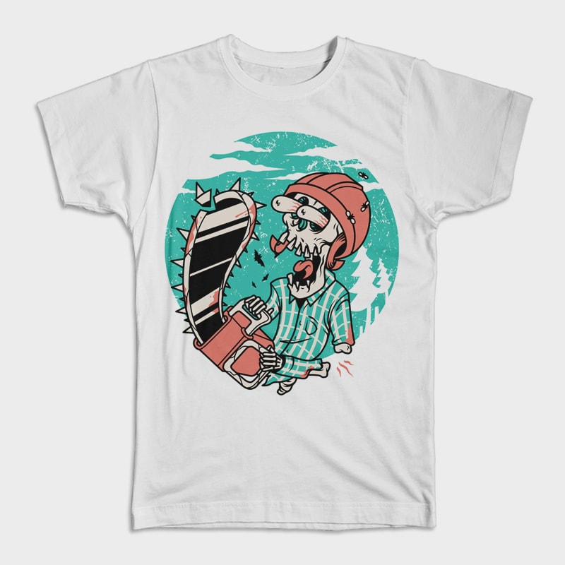 Skullchain Saw buy t shirt design