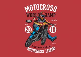 Motocross World Champ buy t shirt design