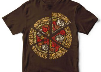 Pizza vector t-shirt design buy t shirt design