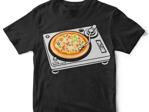 Pizza Scratch buy t shirt design