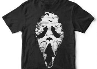 Reaper Scream tshirt design buy t shirt design