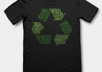 Recycling t-shirt design buy t shirt design