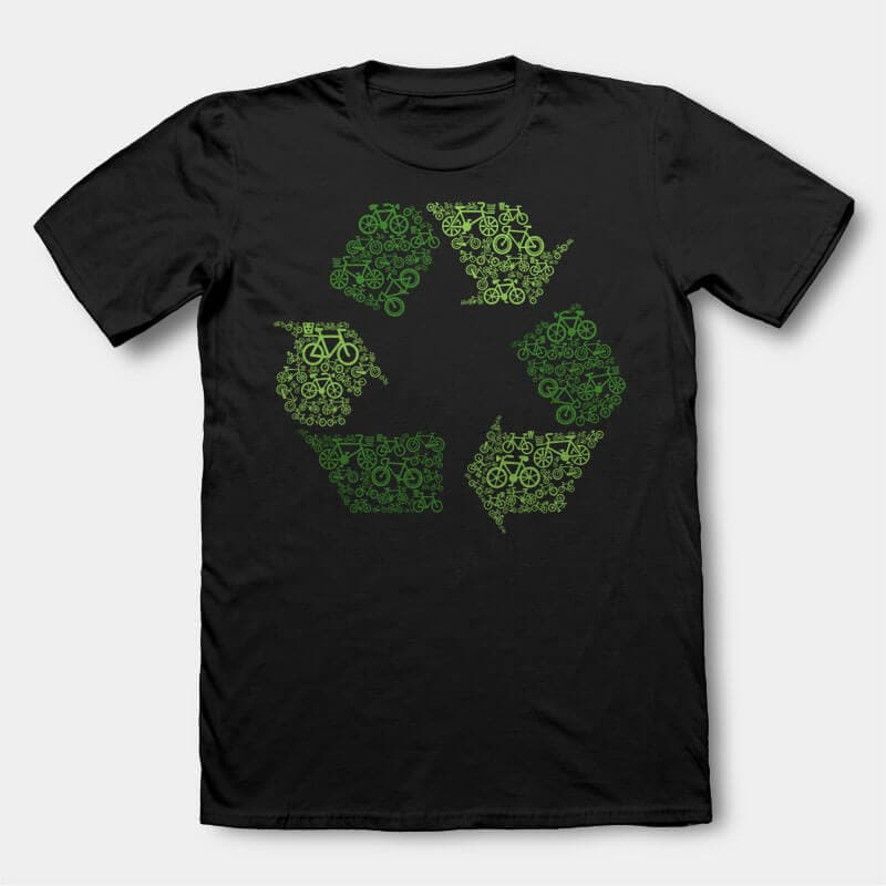 Recycling t-shirt design buy t shirt design
