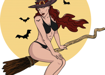 Sexy witch buy t shirt design