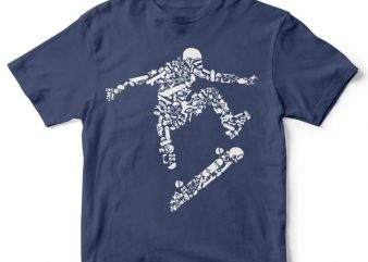 Skater t shirt design buy t shirt design