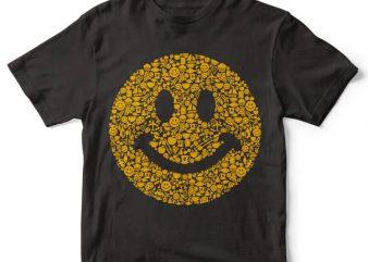 Smiley tshirt design