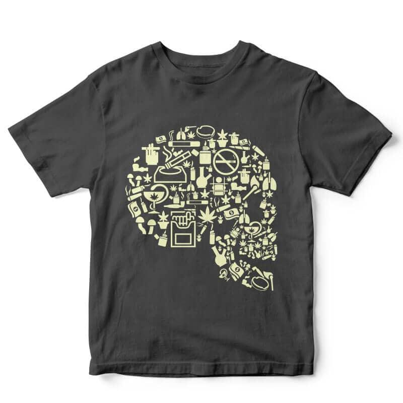Smoking Kills t-shirt design buy t shirt design
