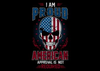 I am American buy t shirt design
