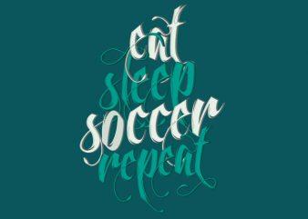Soccer t shirt template vector