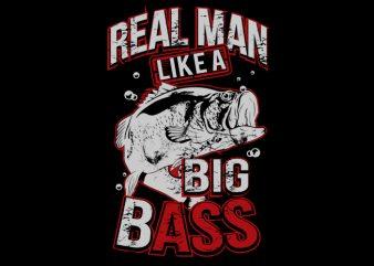 Bass buy t shirt design