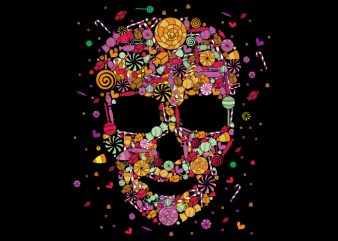 Candy Skull buy t shirt design