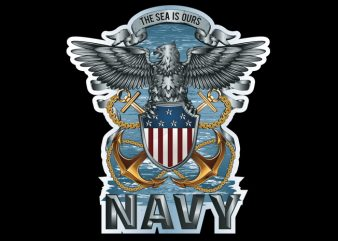 navy buy t shirt design