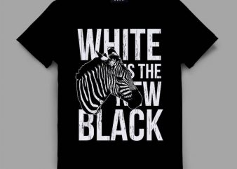 Zebra Graphic tee design