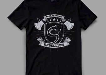 snake 2 rebel Graphic tee design buy t shirt design