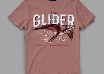 ptera fly Vector t-shirt design buy t shirt design