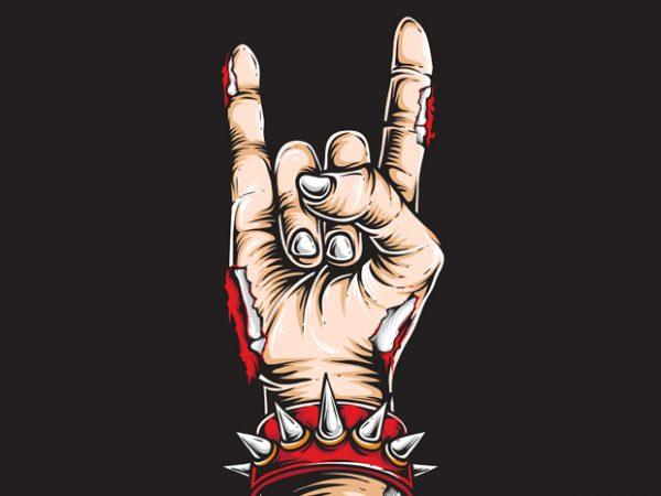 Rock and Roll t shirt design online