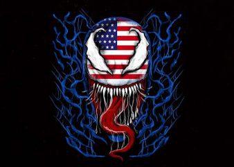 American venom buy t shirt design