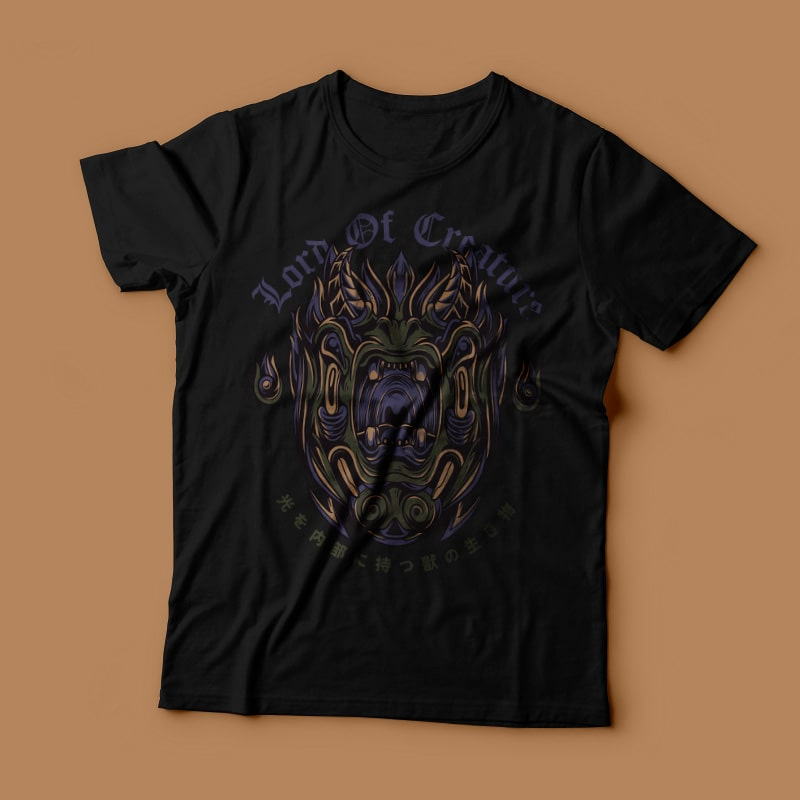 Lord of Creature buy t shirt design