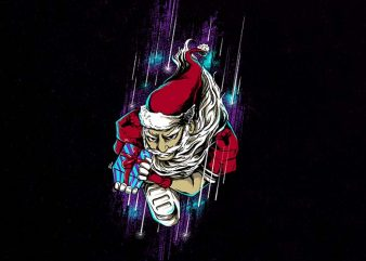 santa touchdown buy t shirt design