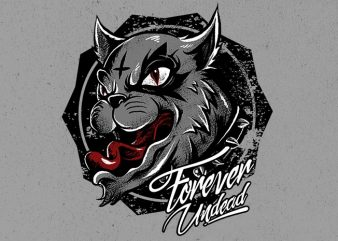 wild cat buy t shirt design