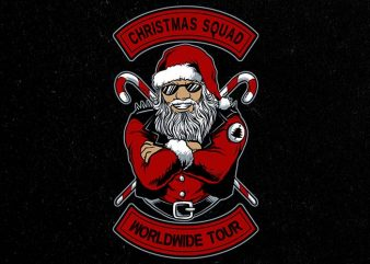 christmas squad buy t shirt design