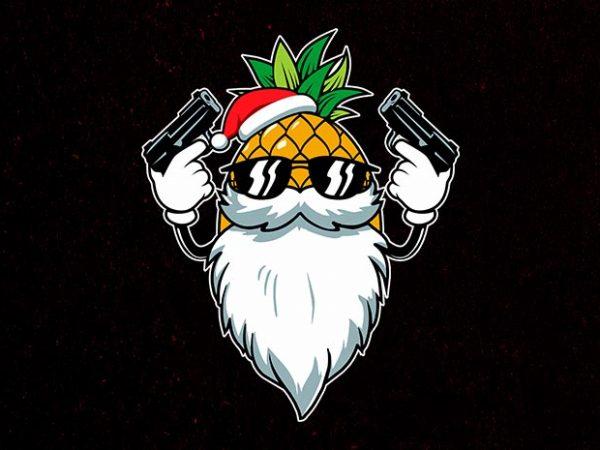 killer santa t shirt vector art
