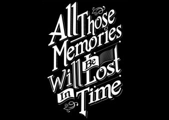 All those Memories buy t shirt design