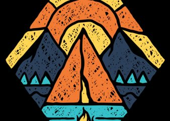 Camp Vibes buy t shirt design
