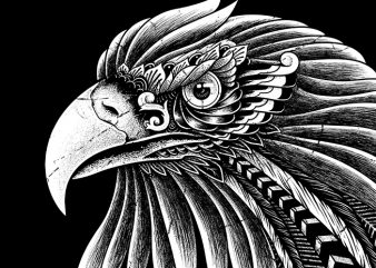Eagle Ornate buy t shirt design