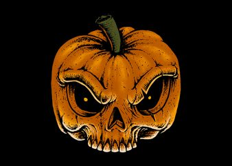 Skull Pumkin buy t shirt design