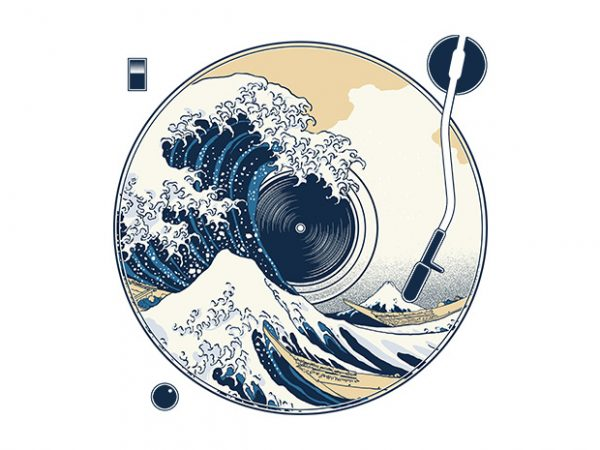 The Great Wave off Sound buy t shirt design