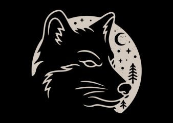 Wolf Moon buy t shirt design