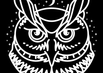 Owl buy t shirt design