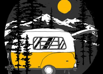 Camper Van buy t shirt design
