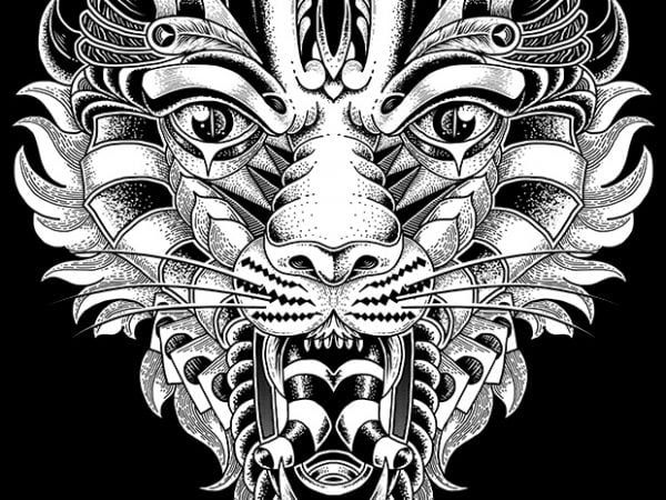 Roar t shirt design online