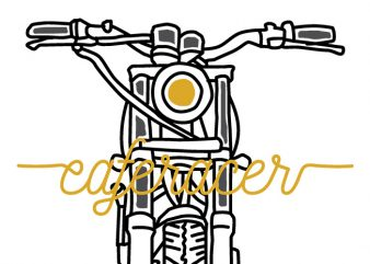 Caferacer buy t shirt design