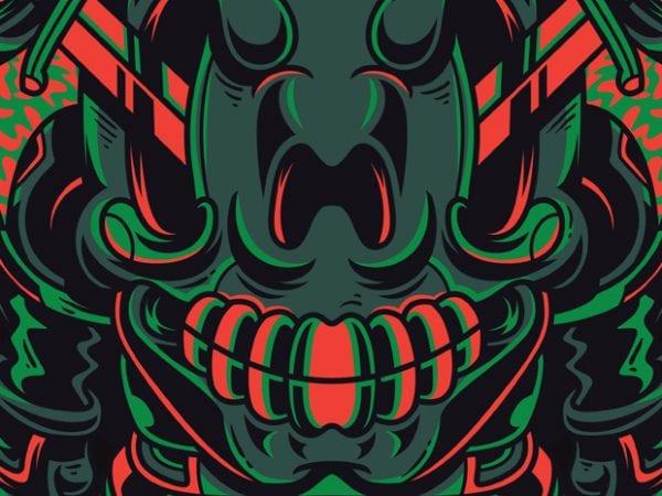 Dead Knight t shirt vector illustration