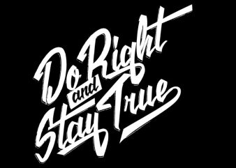 Do Right buy t shirt design