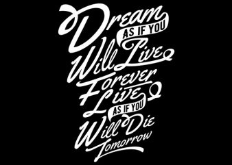 Dream buy t shirt design