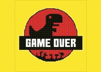 Game Over Park tshirt design