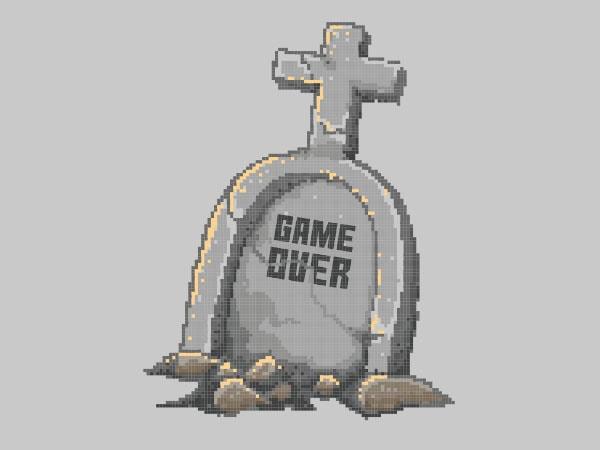 Game Over tshirt design