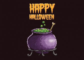 Happy Halloween Graphic t-shirt design buy t shirt design