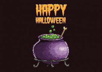 Happy Halloween Graphic t-shirt design
