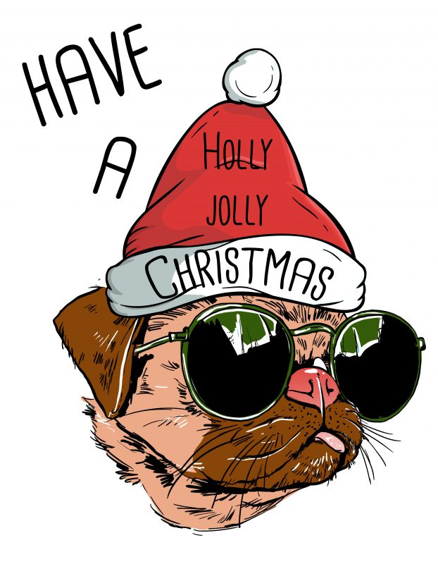 Holly Jolly Christmas.Holly Jolly Christmas Graphic T Shirt