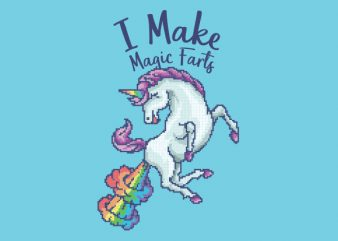 I Make Magic Farts Graphic t-shirt design buy t shirt design