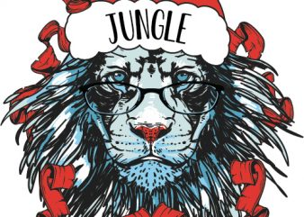 Jungle all the way vector clipart