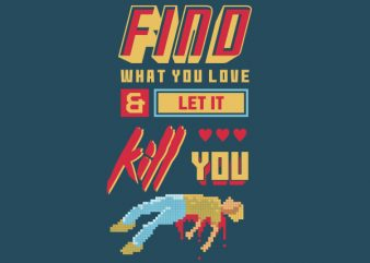 Love Kill Graphic t-shirt design buy t shirt design