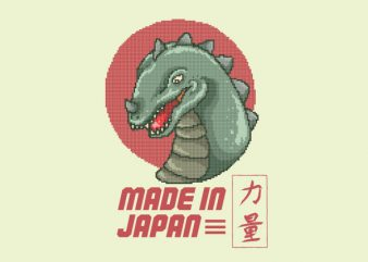 Made In Japan Graphic t-shirt design
